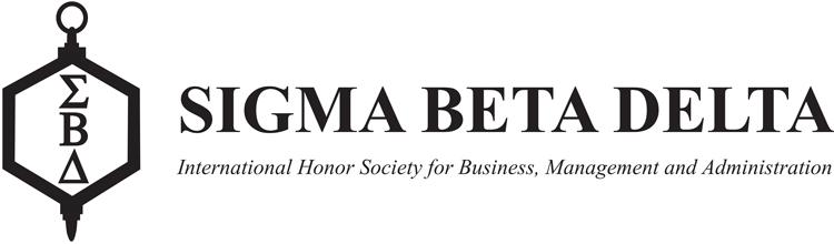 Sigma Beta Delta Anderson Triggs
